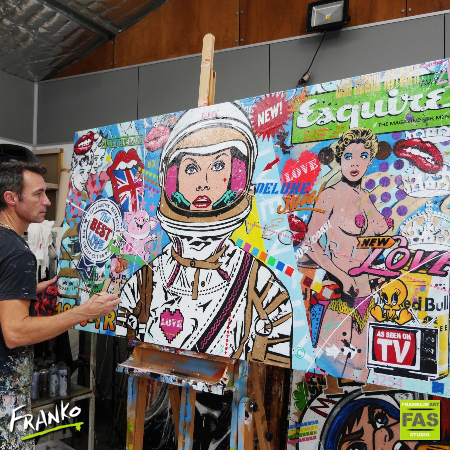 urban pop art franko huge colour girl (3)