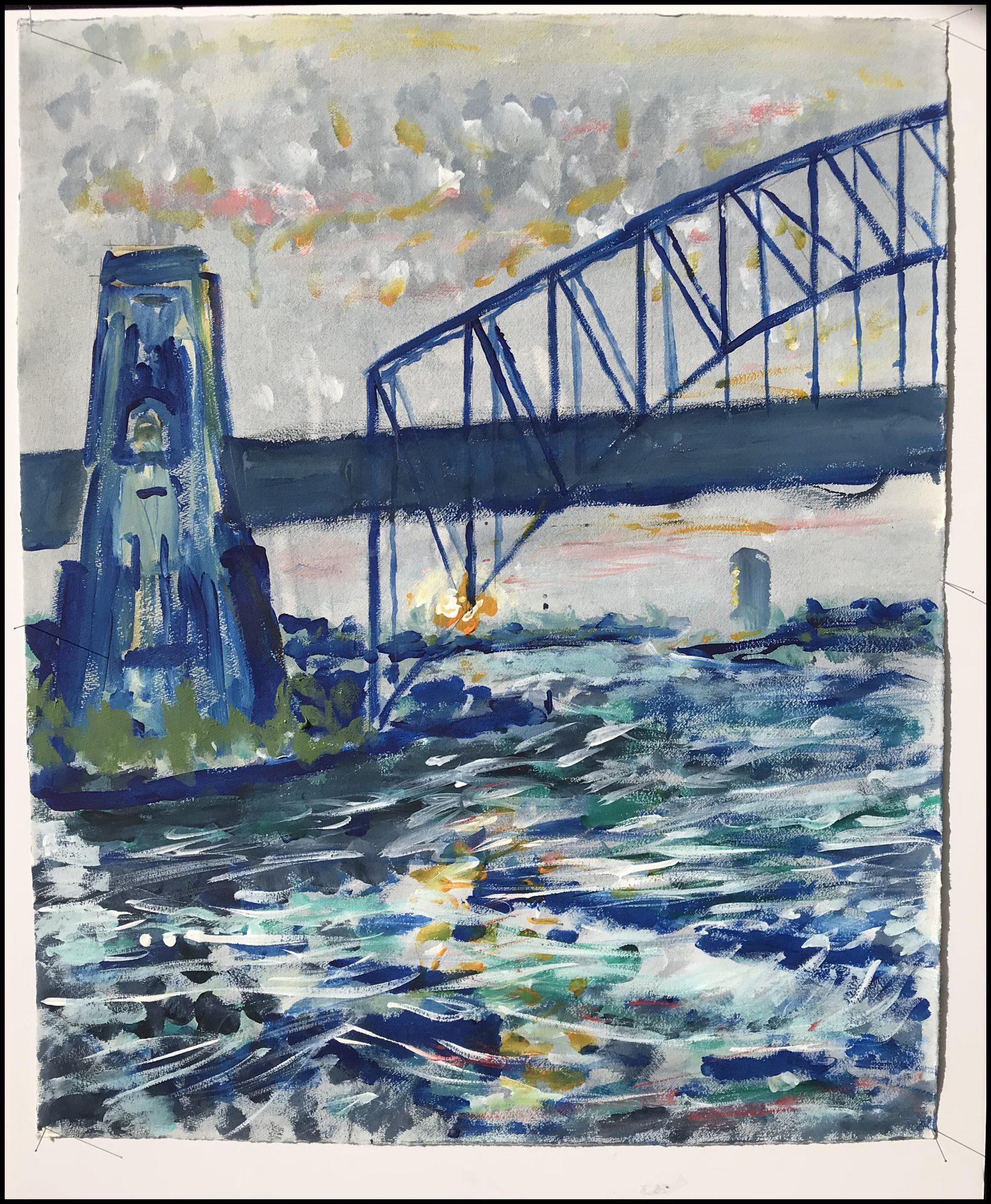 The Bridge PS Crop Frame