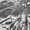 Banksia Lino Cut Print Detail 1
