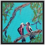Galahs in the gum tree  No 14 Ltd Ed Print