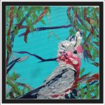 GALAHS IN THE GUM TREE NO 17 Ltd Ed print