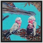 GALAHS IN THE GUM TREE NO 2 Ltd Ed print