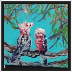 GALAHS IN THE GUM TREES  No 4 Ltd Ed Print