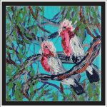 GALAHS IN THE GUM TREES No 5 Ltd Ed Print