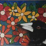 Floral Magpie
