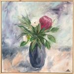 A protea bouquet