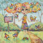 Bird Hair Day – Ltd Ed Print