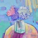 Bouquet before an open window – Ltd Ed Print