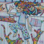 Catnap – Ltd Ed Print