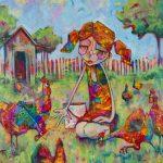 Cheeky Chickens – Ltd Ed Print