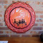 Original acrylic painting Family Journey