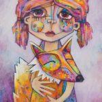 Fox and Child – Ltd Ed Print