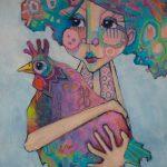 Miss Penny's Hen – Ltd Ed Print