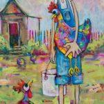 Spoiled Speckled Hen – Ltd Ed Print