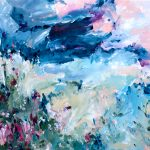 Summer Breeze – abstract expressionist landscape