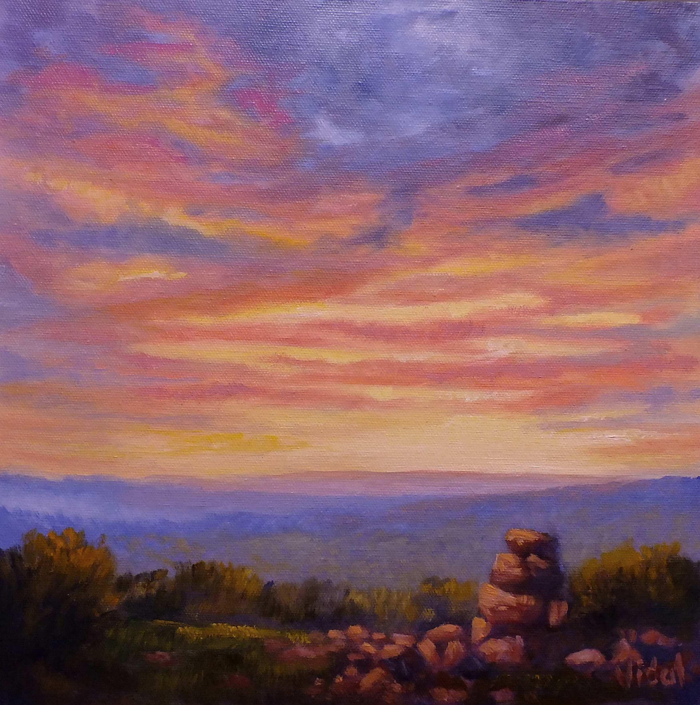 Sunset sky1b