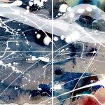 Edge Of The Ocean – Diptych