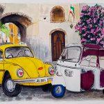 Taxi Vdub in Sicily in Love