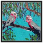 GALAHS IN THE GUM TREE NO 7 Ltd Ed print