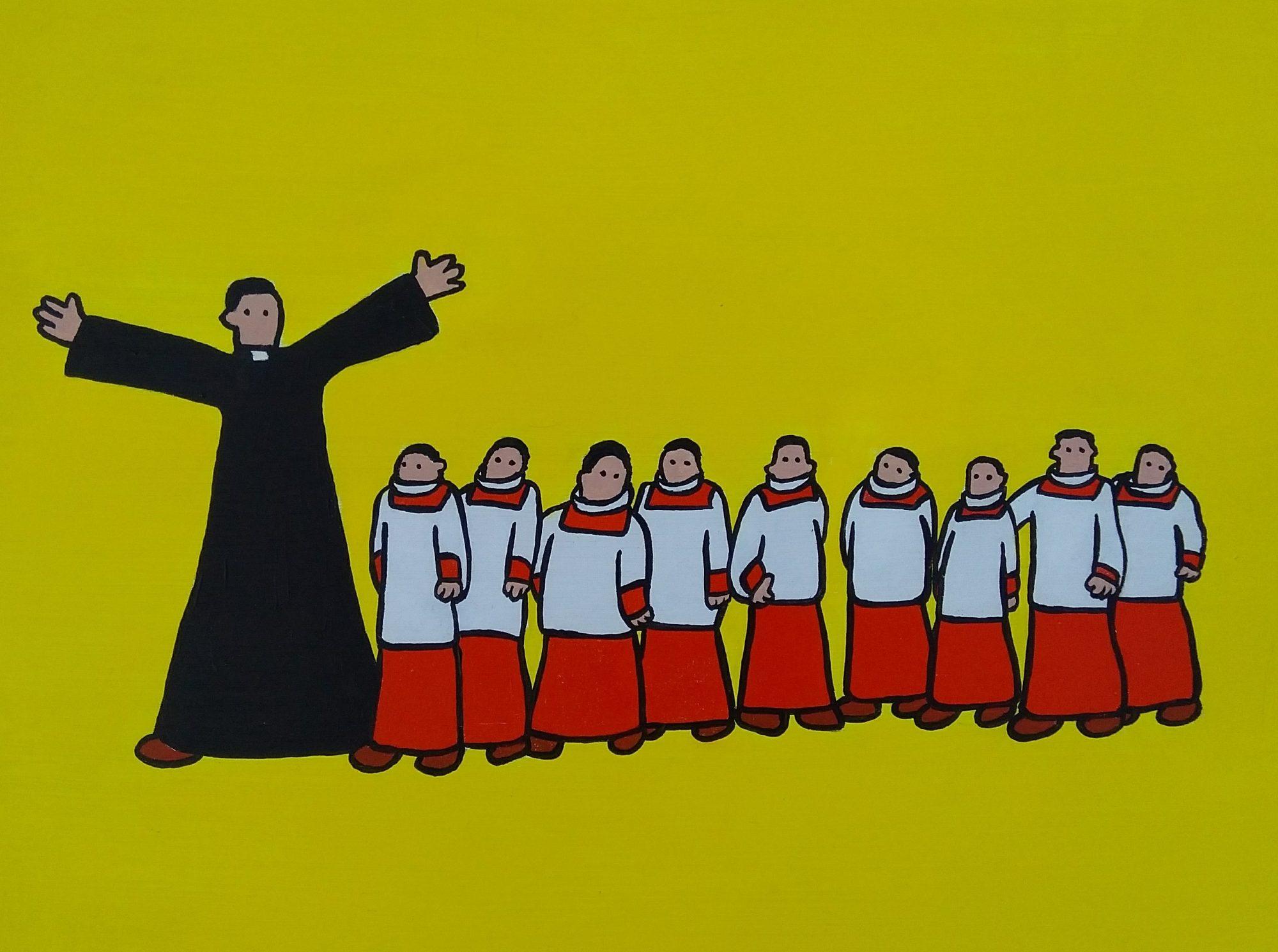 68 Priest and Choir Boys Guy Porter