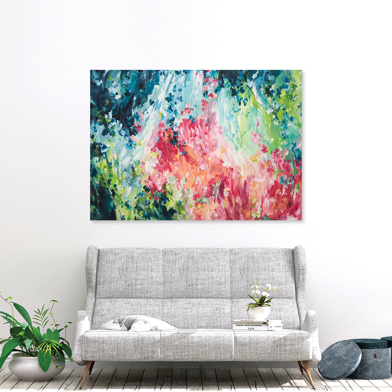 Day Dreamer. Original painting by Australian artist Amber Gittins. Abstract Australian art. Australian artist. Art 2