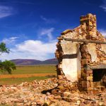 Ruins Settlers Cottage 2/2, Flinders Ranges, South Australia – Ltd Ed Print