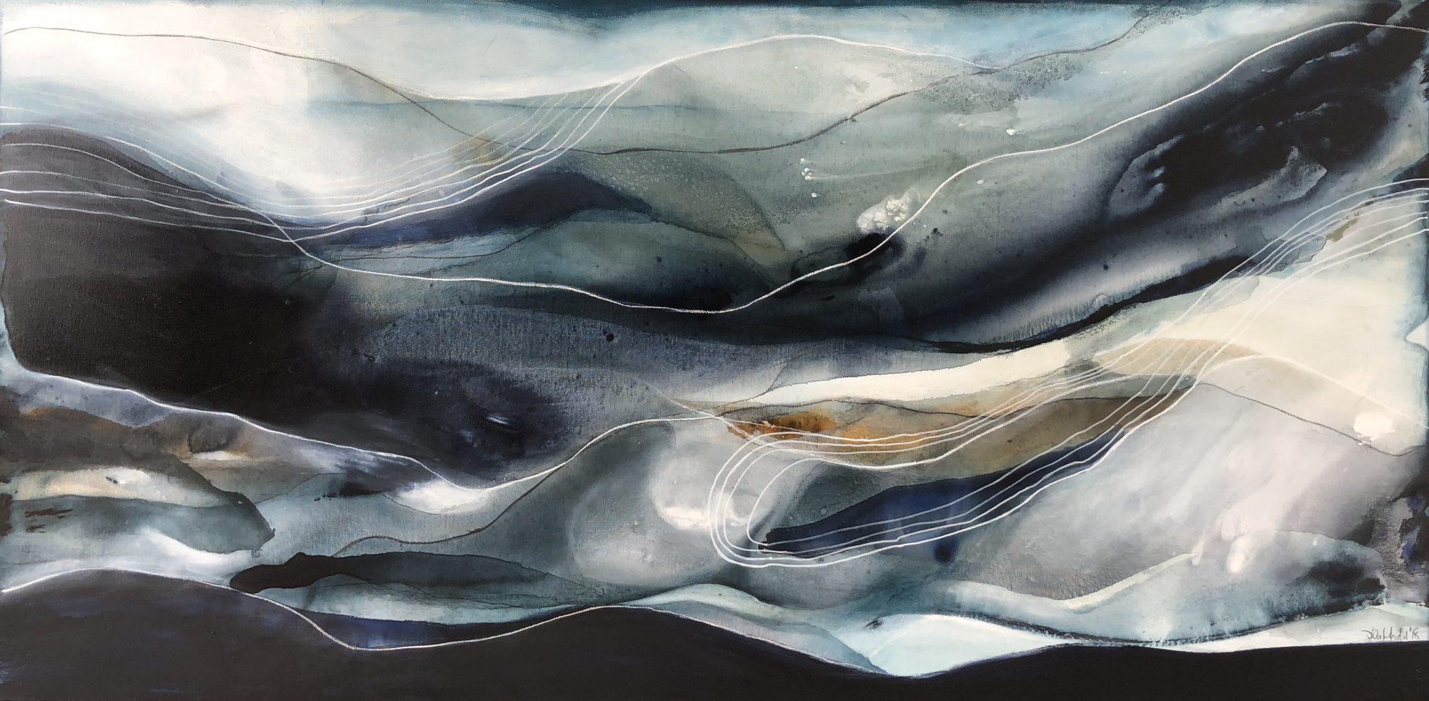 Indigo Tide (183×92)