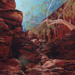 Sun Soaked Cascade