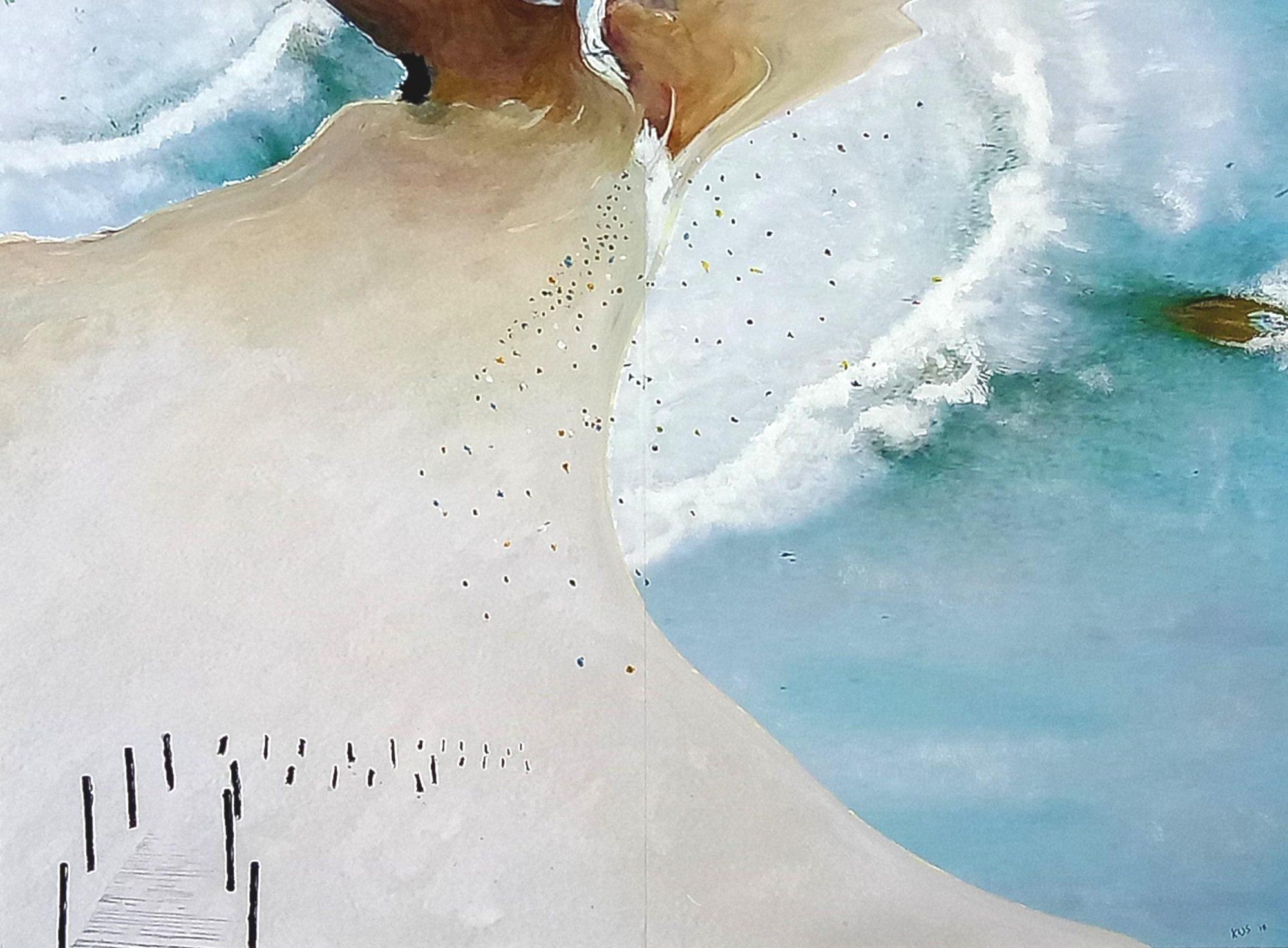 Lifes a Beach unframed
