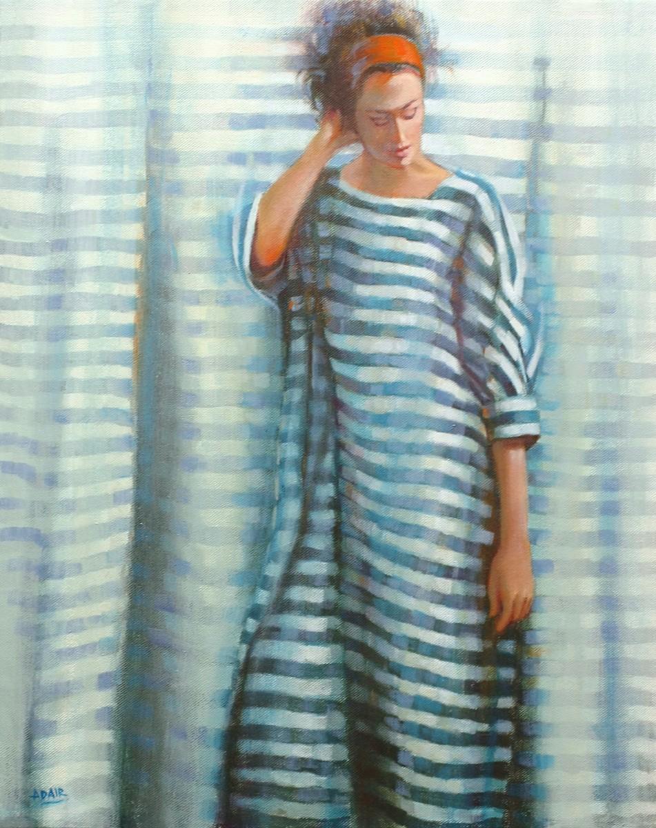 Tent Dress_Oil on Canvas_ 50 x 40 cm SM.a