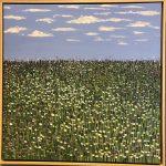 SPRING FLOWERS – Framed landscape