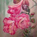 SPRING EUPHONY – Dark Pink Freesia