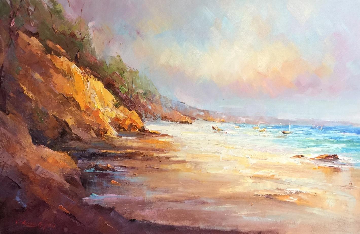 67- Colors of Rainbow beach #4, 92 x 61 cm $ 1450,