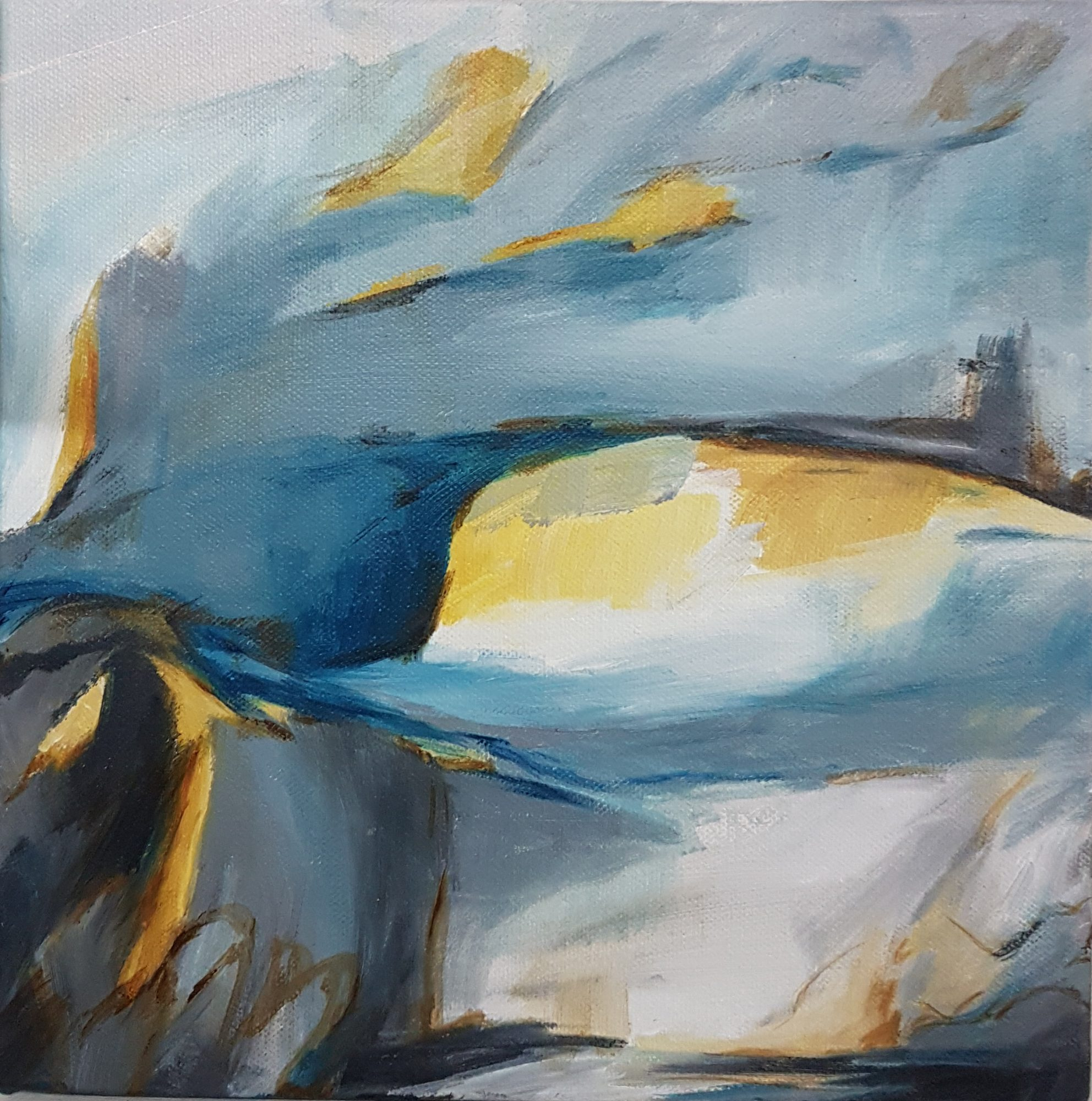At The Bluff 25x25cm