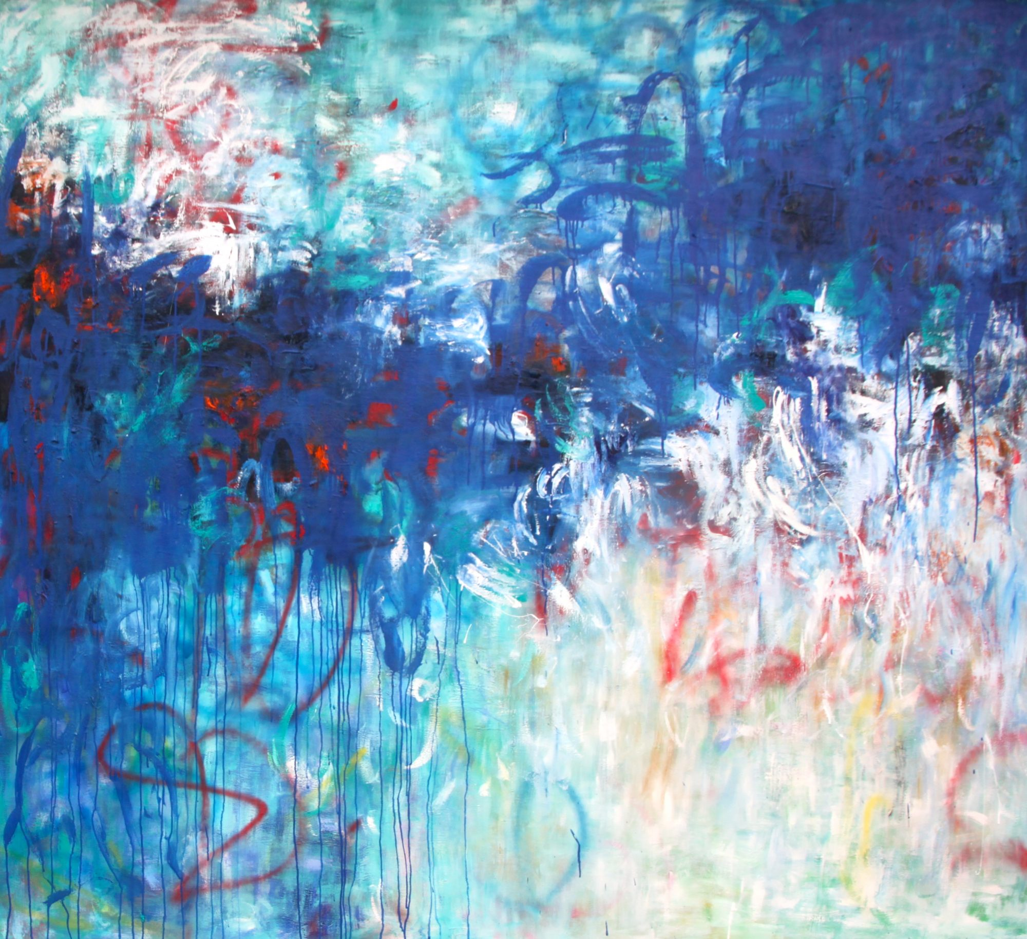 Belinda-nadwie-art-abstract-painting-all about blue