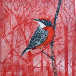Feathery All-sorts No 5 – Crimson chat