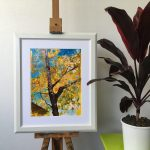 GOLDEN CANOPY IN CHANGING SEASONS  – Limited Edition 3 of 50