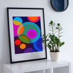 Lunar Epic – Ltd Ed modernist fine art print
