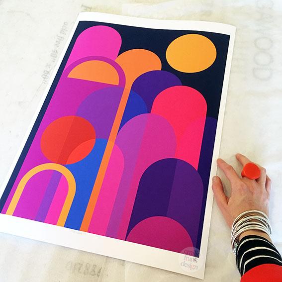 Moonbow giclee art print