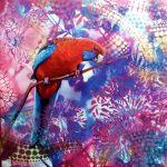 Parrot Pinup  No 2 – Crimson Rosella