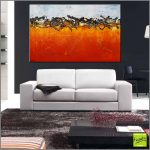 Burnt Orange Landscape