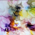Beautiful Dreams – Alcohol Ink Print