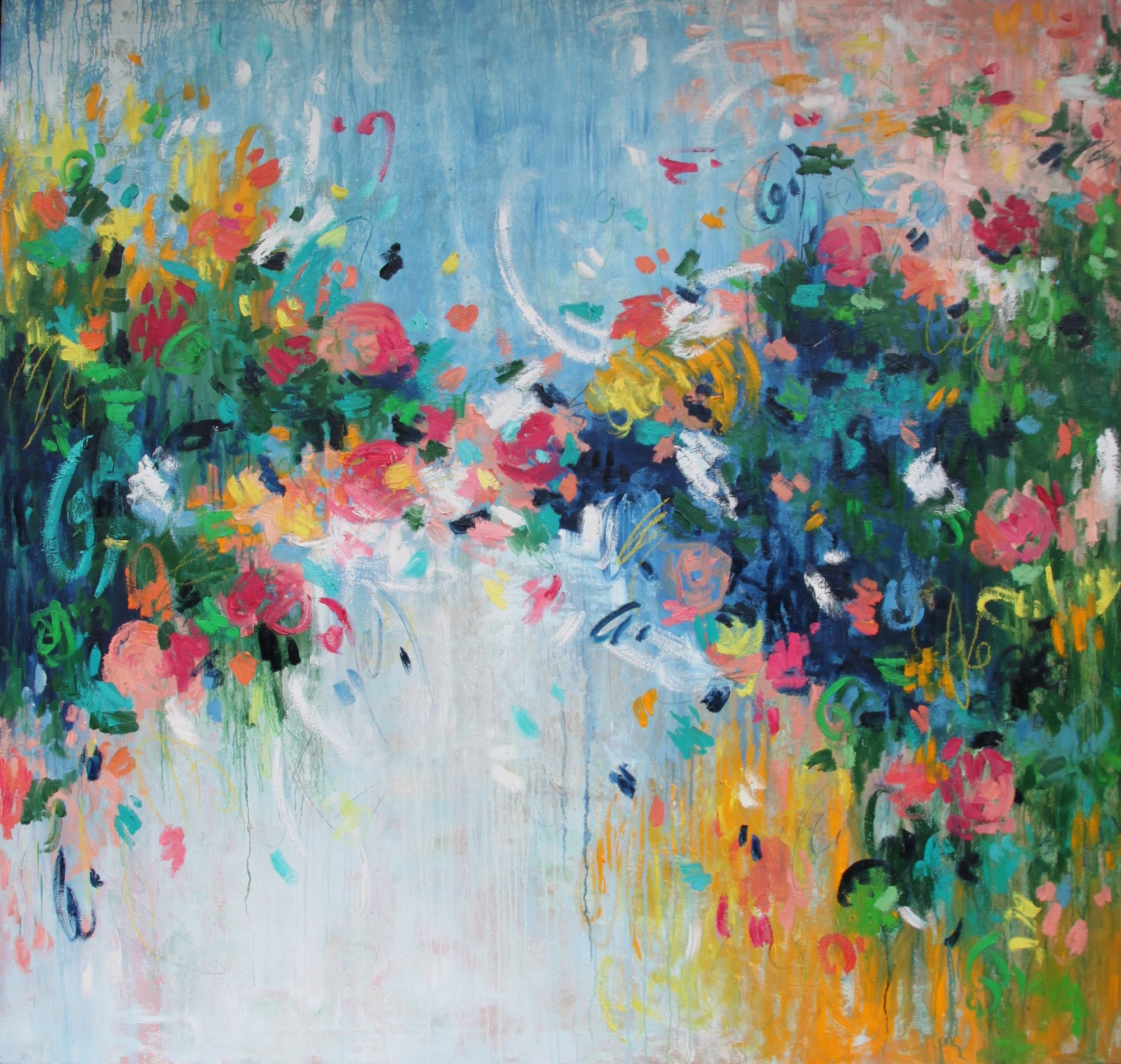 Belinda-nadwie-art-abstract-painting-love blossoms