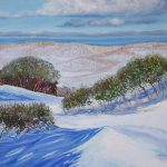 Untouched Kosciuszko snow