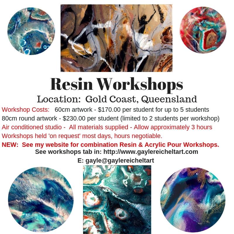 New Resin Workshops Brochure 2019 2