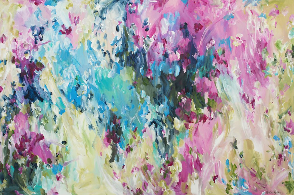 Outback Blossom By Australian Artist Amber Gittins