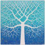 Beach Tree Ocean Swirls – SOLD