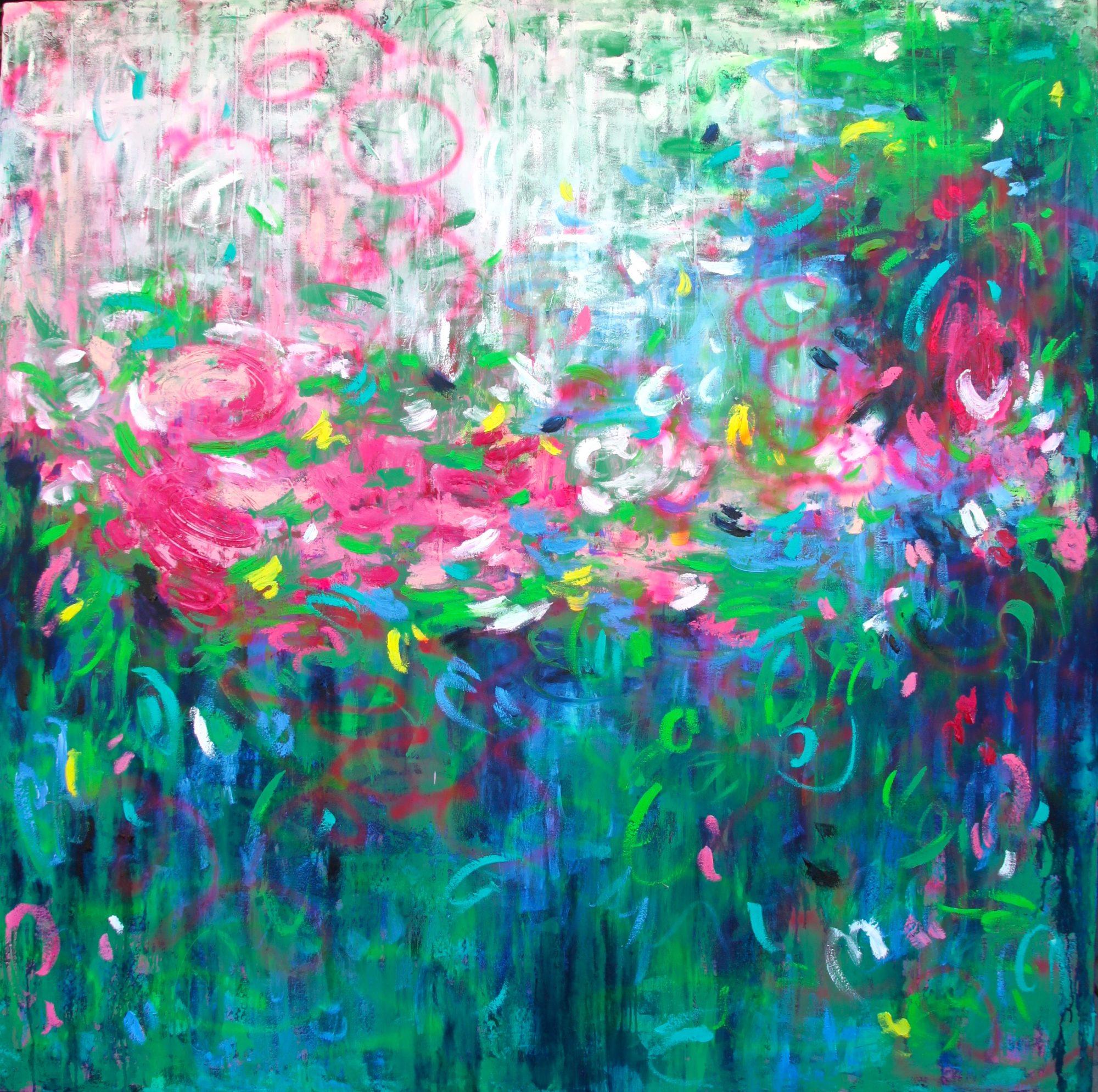 belinda-nadwie-art-abstract-painting-singing heart 2