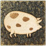 Doris the Pig – SOLD
