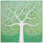 Spring Tree in Field – SOLD